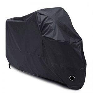 Housse de Protection pour Moto, LIHAO Couverture Imperméable en Polyester 190T pour Moto, Scooter, Taille: XL, Couleur: Noir de la marque LIHAO image 0 produit