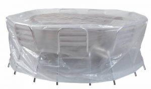 HOUSSE RONDE POUR TABLE DE SALON DE JARDIN diam 200 x H80 de la marque Ribiland image 0 produit
