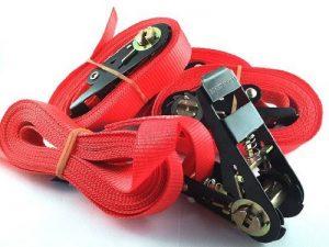 iapyx® 4x Sangle à cliquet avec cliquet 5metres en Standard Couleur: Rouge de la marque iapyx® image 0 produit