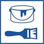 ILP 8x 4x 5m Bâche multi-usages-Film facile Bâche indéchirable–160m² Ensemble–QUALITÉ LDPE Protection–Contre la saleté couleur l'humidité–fiables Cache les travaux de peintre et réparation de la marque ProfessionalTree image 6 produit