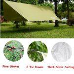 iNeibo Tente de Camping - Bâche de Protection imperméable en Polyuréthane de la marque iNeibo image 3 produit