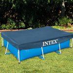 Intex 28039 Bâche de protection pour Piscine rectangulaire Bleu 450 x 220 x 20 cm de la marque Intex image 2 produit