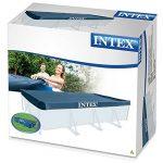 Intex 28039 Bâche de protection pour Piscine rectangulaire Bleu 450 x 220 x 20 cm de la marque Intex image 3 produit