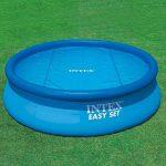 Intex Bâche à bulle Bleu 470 x 470 x 1 cm 29024 de la marque Intex image 2 produit