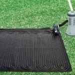 Intex Chauffage solaire - tapis solaire pour piscine hors sol jusqu'à 30m3 - Permet d'augmenter de 3 à 5 degrés la température de l'eau de la marque Intex image 1 produit