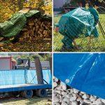 JAROLIFT Bâche de recouvrement 4 x 6 m - PE 90 g/m² - verte - JAROLIFT de la marque Jarolift image 6 produit