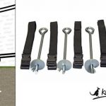 Kangui Trampoline de jardin 305 cm + filet de sécurité + échelle + bâche de protection + kit d'ancrage PUNCHI ATOLL de la marque Kangui image 5 produit