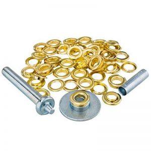 Kit pose oeillets pour bache + 30 oeillets acier de la marque Ribiland image 0 produit