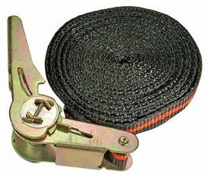 Kraftmann 3550 Sangle à cliquet, Noir/orange, 5m x 25 mm de la marque BGS technic PRO+ image 0 produit