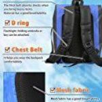 LAD WEATHER LAD météo imperméable/hydrofuge Sac à dos Roll Top Bâche légère Sports d'extérieur de voyage 25L Aquafree Dry Bag de la marque LAD WEATHER image 5 produit