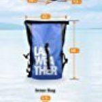 LAD WEATHER LAD météo imperméable/hydrofuge Sac à dos Roll Top Bâche légère Sports d'extérieur de voyage 25L Aquafree Dry Bag de la marque LAD WEATHER image 6 produit
