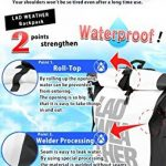 LAD WEATHER LAD météo imperméable/hydrofuge Sac à dos Roll Top Bâche légère Sports d'extérieur de voyage 25L Aquafree Dry Bag de la marque LAD WEATHER image 3 produit
