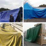 LAXF-Bâches DIKA UK bâche armée de protection/Feuille résistante imperméable de bâche de bâche, 480g/m² - 100% imperméable et UV protégé de la marque LAXF-Bâches image 2 produit