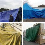 LAXF-Bâches DIKA UK bâche armée de protection/Feuille résistante imperméable de bâche de bâche, 480g/m² - 100% imperméable et UV protégé de la marque LAXF-Bâches image 3 produit