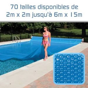 Linxor France ® Bâche à bulles sur mesure 300 microns / 70 tailles disponibles / Norme CE de la marque Linxor image 0 produit