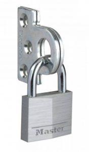Master Lock Cadenas Pack œillets de fermeture de placard avec cadenas en aluminium de 40mm (système de fermeture) de la marque Master Lock image 0 produit