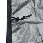 Meijunter XXL 190x71x117cm Noir BBQ Couverture Bâche de Protection couvercle de gril à gaz lourd pour Patio de jardin extérieur Anti-UV/Anti-l'eau/Anti-l'humidité de la marque Meijunter image 1 produit