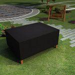 Meykey Housse de Protection Salon de Jardin Rectangulaire 320 x 191 x 94 cm, Noir de la marque Meykey image 3 produit