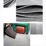 NAN Épaississement extérieur imperméable à l'eau de tissu de bâche de protection imperméable de bâche de protection solaire d'Oxford de bâche de protection solaire d'auvent 04.5mm -550g / m2 ( Couleur : Gris , taille : 3x 6m ) de la marque Tarpaulin image 3 produit