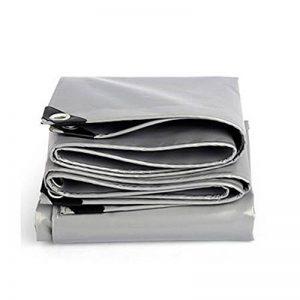 NAN Épaississement extérieur imperméable à l'eau de tissu de bâche de protection imperméable de bâche de protection solaire d'Oxford de bâche de protection solaire d'auvent 04.5mm -550g / m2 ( Couleur : Gris , taille : 3x 6m ) de la marque Tarpaulin image 0 produit