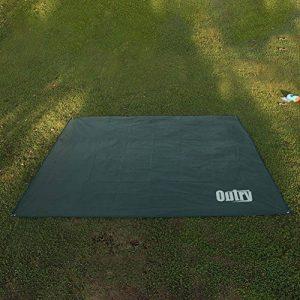 OUTRY Bâche étanche multi-usages–Piquets de tente inclus–3tailles disponibles de la marque Outry image 0 produit
