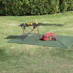 OUTRY Bâche étanche multi-usages–Piquets de tente inclus–3tailles disponibles de la marque Outry image 3 produit