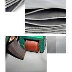 Pengbu MEIDUO Bâches Bâche polyvalente polyvalente bâche tente abri imperméable résistant aux intempéries Forte renforcé gris Poly Tarp -0.45mm-550g/m² pour l'extérieur de la marque Pengbu image 3 produit