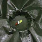 PENGFEI Bâche Protection Double Imperméable L'eau Épaissir Protection Solaire Pluie Toile De Hangar Voiture Couvercle Anti-corrosion, Gris + Vert, Épaisseur 0.35 MM, 160 G / M², 9 Options De Taille ( Couleur : GRAY+GREEN , taille : 6x5M ) de la marque PEN image 3 produit