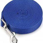 ploopy Sangle de dressage pour chiens, sangle 10mètres de traçage pour chien Idéal Promenade ou maritime bleu de la marque Ploopy image 2 produit