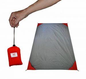 polaar® - XL d'extérieure, couverture de pique-nique et plage, imperméable à l'eau, ultra-léger, 200 cm x 150 cm, avec poche de la marque polaar image 0 produit