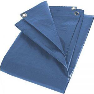 PolyTarp unterlegplane housse bache de protection 10 x 15 m oeillets en aluminium 70 g/m2, bleu de la marque KREATOR image 0 produit