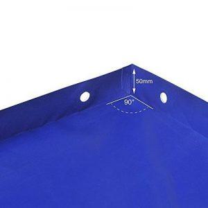 ProPlus Bâche plate pour remorque avec sangle en caoutchouc 2575 x 1345 x 50mm de la marque PRO PLUS image 0 produit
