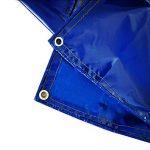 QIANGDA Bâche De Protection Paillage Tarp PVC Canopée Abri De Tente Imperméable Parasol Couverture De Piscine -550g/M², Épaisseur 0.6mm, Multi-taille En Option (taille : 2 x 3m) de la marque QIANGDA-pengbu image 1 produit