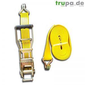 Sangle 5to 20m 50mm Ergo de cliquet LZU grat Sche Jaune de la marque Trupa image 0 produit