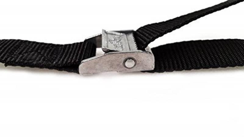 Silverline 449682 Jeu de 2 sangles /à boucle /à griffe 2,5 m x 25 mm