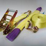 Sangles à cliquet 50 mm x 4 m de notation 5000 kg de la marque D Pro Tools UK image 1 produit
