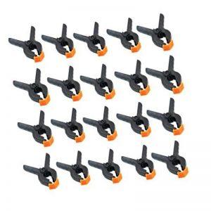Sharplace 20 Pièce Pince à Ressort en Acier Pince de Serrage Prise Antidérapante Clip Attache de la marque Sharplace image 0 produit