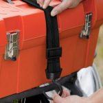 Tendeur élastique extra large pour un meilleur maintien de la charge. Crochet Noir rotatif pour plus de flexibilité de la marque Master Lock image 2 produit
