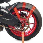 Tendeurs pour roue arrière Sangle, Moto, de sécurité, sangle d'arrimage, rouge, Racefoxx de la marque Racefoxx image 1 produit