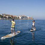 THURSO SURF Waterwalker gonflable Stand Up Paddle SUP 10'6/11' Long deux Couche de 15,2cm d'épaisseur Deluxe inclus Carbone Tige Pagaie/2+ 1Sac de pont de Palmes//Laisse/pompe/sac à dos de la marque THURSO SURF image 6 produit
