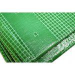 Toile 4 x 3 m pour pergola et tonnelle 170g/m² - Bâche pour pergola et tonnelle verte - 4x3 m en polyéthylène de la marque Univers Du Pro image 3 produit