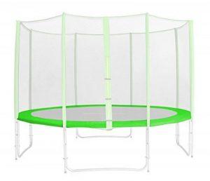 Tour de protection de rechange vert pour trampoline de jardin - 1,85 M - 4,60 M PVC - RA-1957 - Taille 3,70 m 4L de la marque SixBros. image 0 produit