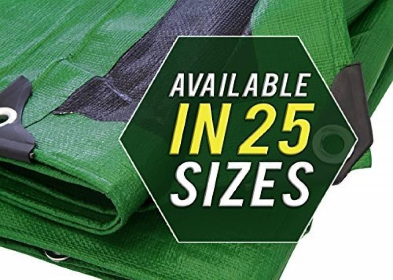 vert Ferpro 0300152 Labor B/âche en PVC renforc/é avec /œillets 0300153