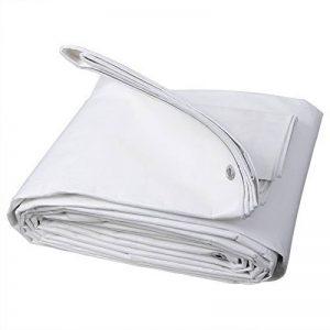 WOLTU GZ1177m2 Bâches de protection PE,couverture étanche Bâches couverture de bateau,bâche étanche et indéchirable,3x4m 280g/m² ,Blanc de la marque WOLTU image 0 produit