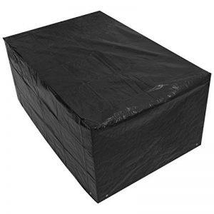 Woodside - Bâche pour table de jardin - rectangulaire/étanche - noir - petite taille/1,5 m (5 ft) de la marque Woodside image 0 produit