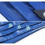WUFENG Bâche Tissu Ignifuge Soudage Prévention D'incendies Isolation Thermique Tissu Ferroviaire 3 Défense Fibres De Verre Tissu De Pluie Doux La Vie Plus De 10 Ans De Plein Air 0,6 Mm D'épaisseur 650g / M2 ( Couleur : Bleu , taille : 3x3m ) de la marque image 3 produit
