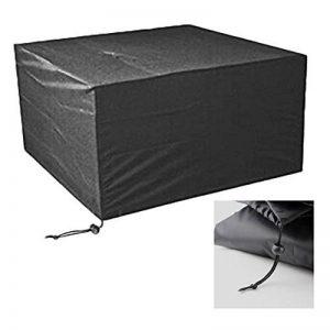 Xiliy Meubles Table Couverture Polyester Housse de Protection pour Rectangulaire Meuble de Jardin Bâche Housse Rectangulaire 242 x 162 x 100 cm de la marque Xiliy image 0 produit