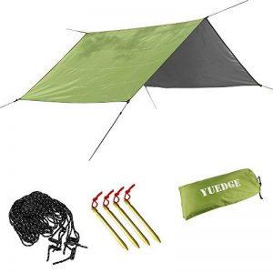 YUEDGE Bâche Tarp Toile de Tente Tapis de Sol Pare-Soleil Portable Légère Pliable Imperméable pour Camping Randonnée Pique-nique de la marque YUEDGE image 0 produit