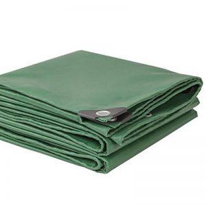 ZHANGRONG-- Toile Extérieure Plus Épaisse Toile Tissu De Pluie PVC Tissu En Plastique Tissu D'ombre Bâche De Protection Solaire Imperméable À L'eau Tissu De Canopée 500gm² (épaisseur 0.42MM) ( Couleur : Armée verte , taille : 4*5m ) de la mar image 0 produit